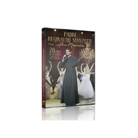 DVD PE REGINALDO MANZOTTI ALMA MISSIONARIA
