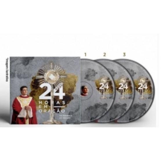 DVD 24 HORAS EM ORAÇÃO NA PRESENÇA DO SENHOR 2018
