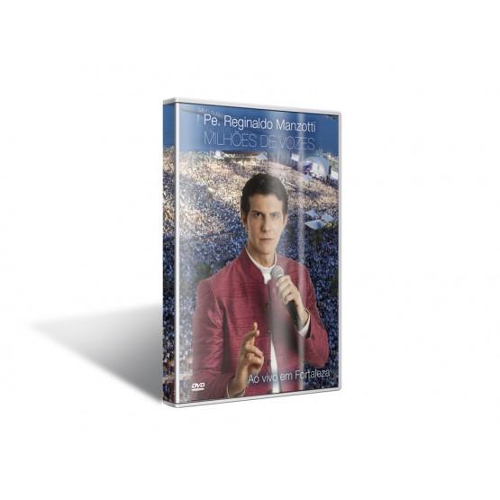 DVD MILHOES DE VOZES