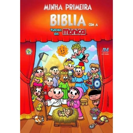 MINHA PRIMEIRA BÍBLIA COM A TURMA DA MÔNICA- PEQUENO