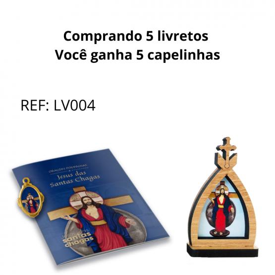 LIVRETO + CAPELA JESUS DAS SANTAS CHAGAS