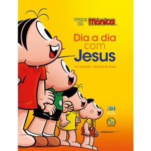 DIA A DIA COM JESUS - TURMA DA MÔNICA (ALMOFADADA)