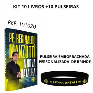 KIT A NOVA BATALHA - 10 LIVROS + 10 PULSEIRAS