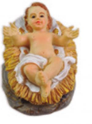 MENINO JESUS NA MANJ 4.5CM
