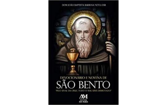 DEVOCIONÁRIO E NOVENA DE SÃO BENTO - 7,5X11CM