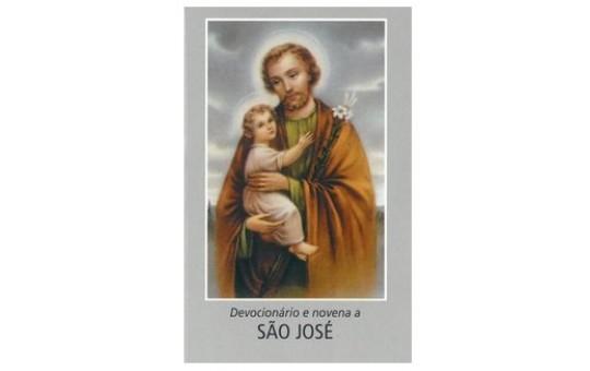 DEVOCIONÁRIO E NOVENA SÃO JOSÉ - 7,5X11CM