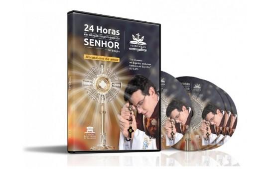 DVD 24 HORAS EM ORAÇÃO NA PRESENÇA DO SENHOR 2019