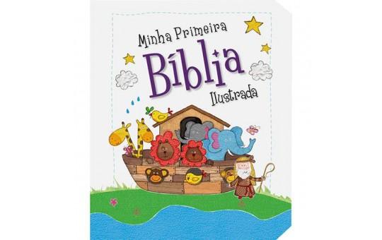 MINHA PRIMEIRA BÍBLIA ILUSTRADA - FORA DE LINHA