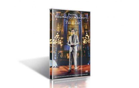 DVD PE REGINALDO MANZOTTI PAZ E LUZ