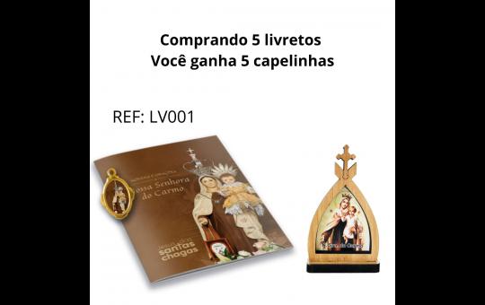 LIVRETO + CAPELA NSRA DO CARMO