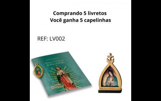 LIVRETO + CAPELA NSRA DE GUADALUPE