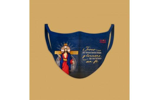 MÁSCARA JESUS DA SANTAS CHAGAS