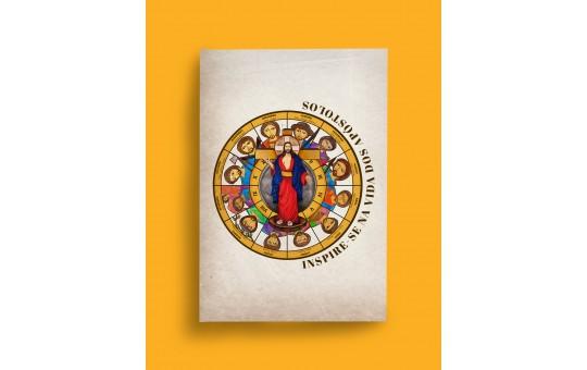 BLOCO DE NOTAS JESUS DAS SANTAS CHAGAS E APOSTOLOS