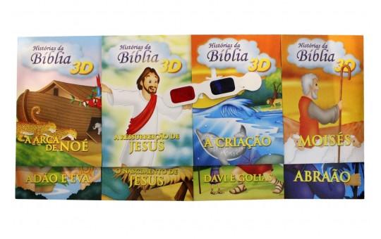 HISTÓRIAS DA BÍBLIA  - KIT 8 LIVROS